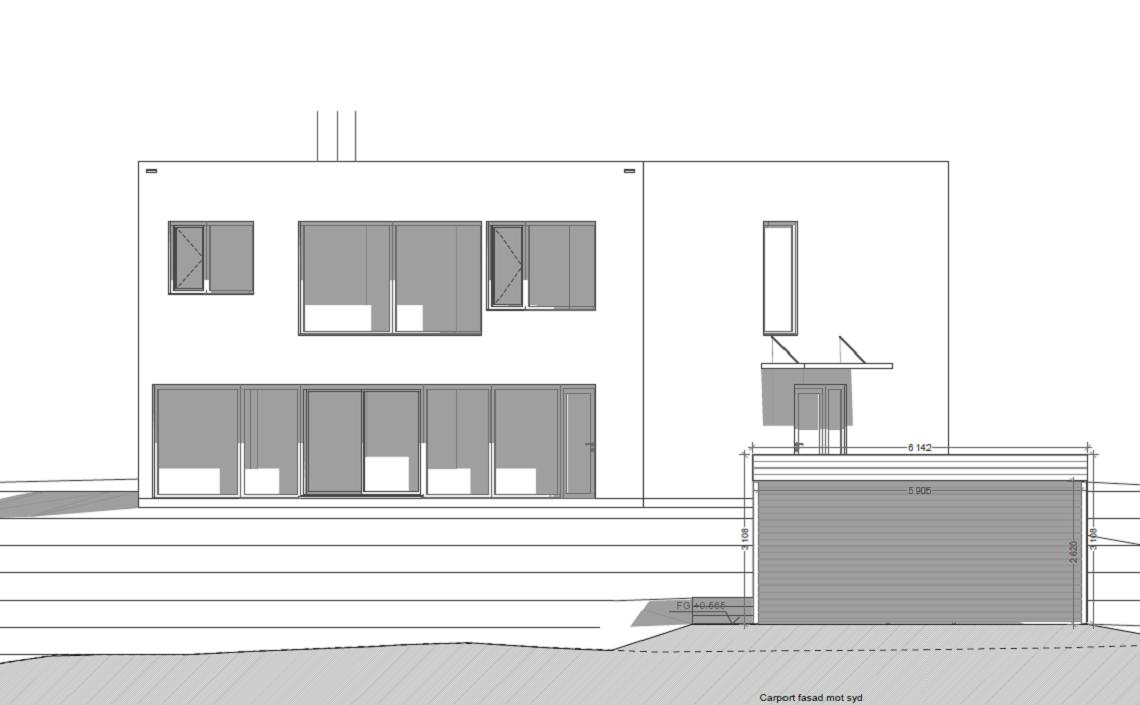 fasad+garage - ny