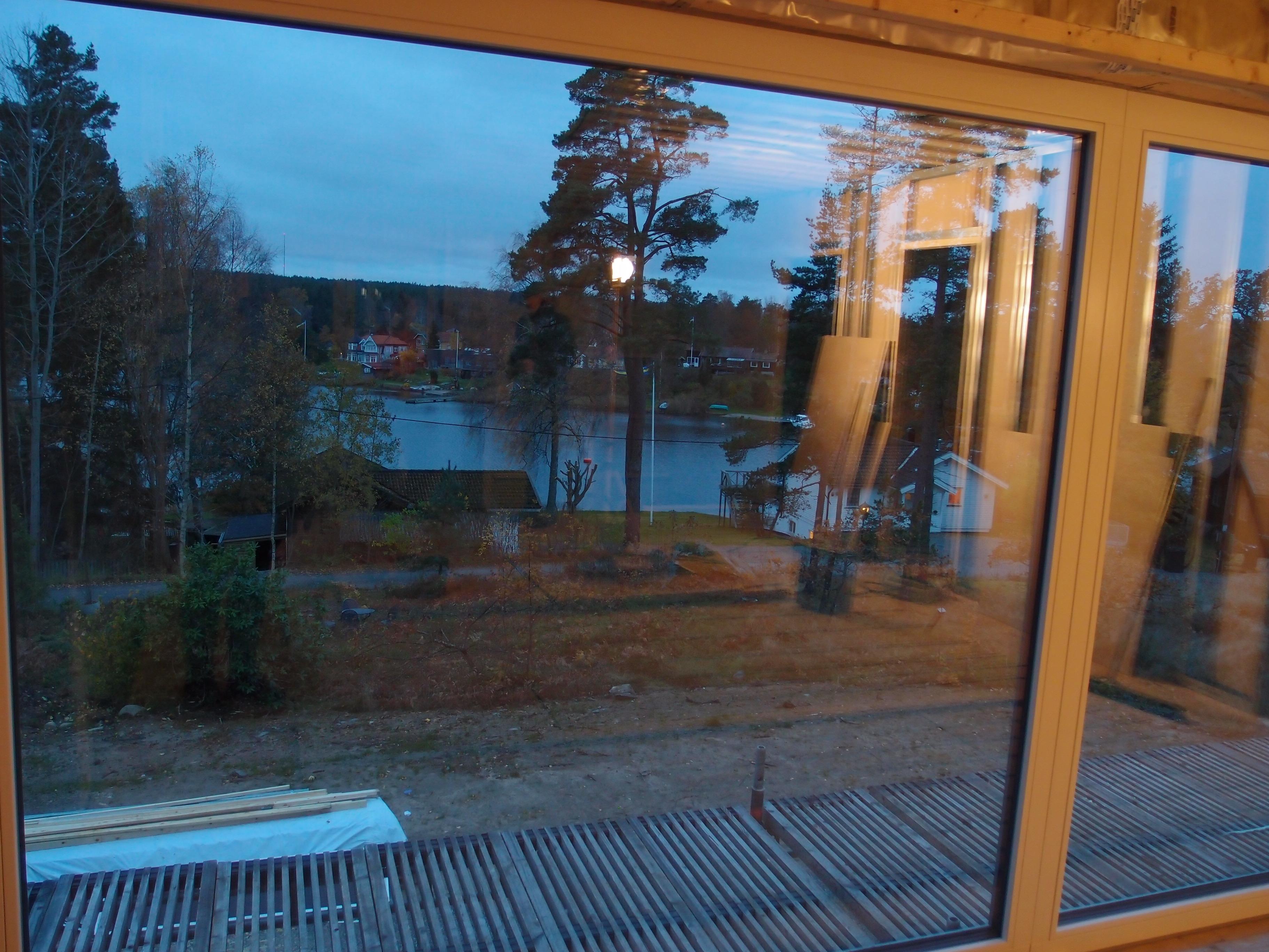 Utsikt TV-rum övervåning