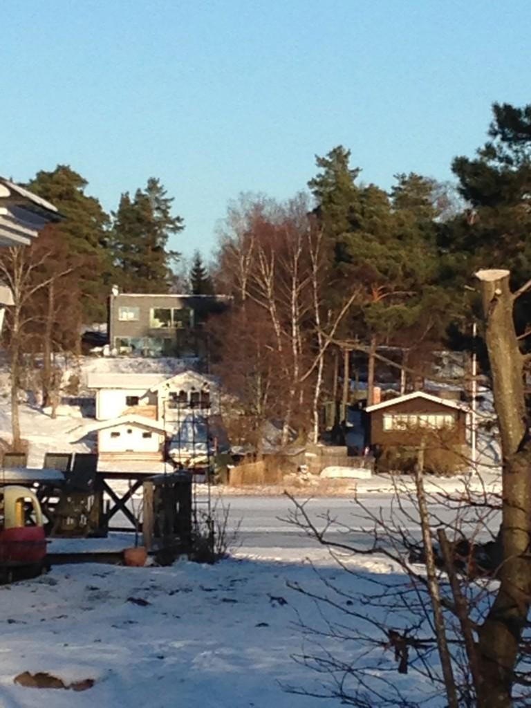 Hus sett från Svavelsö