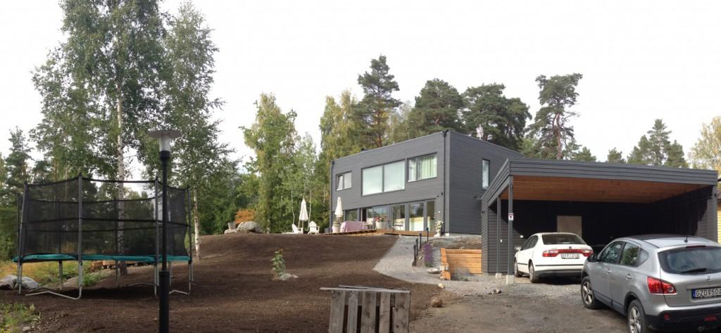 Färdigt hus